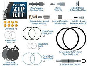 ford aode rw rw transmission sonnax shift kit aode