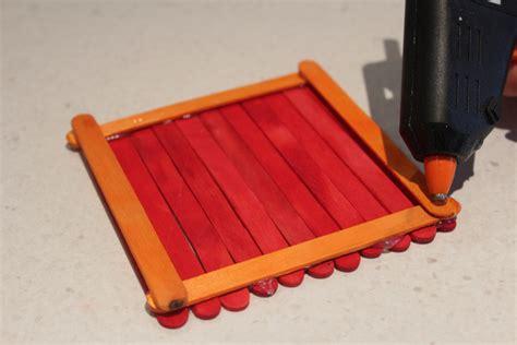 Box Stik popsticks popsicle stick box popsicle stick crafts kid crafts diy jewellery box