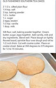 southern tea cakes everyday recipes pinterest