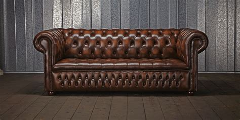 this image identifies the chesterfield sofa which was one