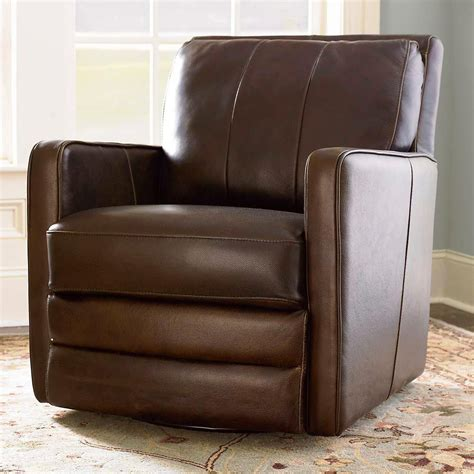 Leather Swivel Chair Recliner - missing product in 2019 siek living room leather