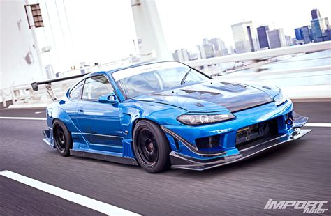 nissan silvia s15 nissan s15 silvia garage mak shark photo image gallery