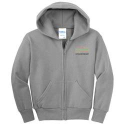 Imc Shield Zipper nutcracker youth fleece zip hooded sweatshirt