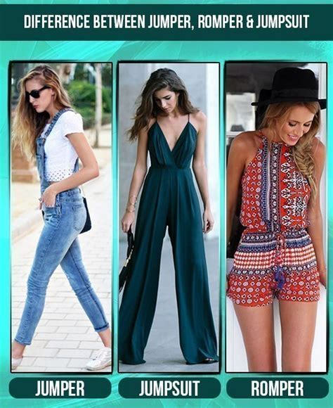 Vs Jumpsuit difference between jumper jumpsuit romper fashion