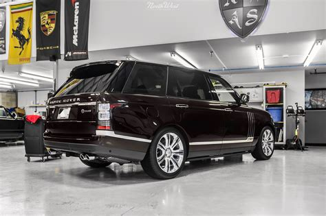 wrapped range rover autobiography lwb sv autobiography new car detail xpel stealth wrap
