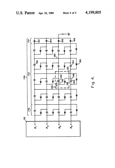 voltage multiplier capacitor size patent us4199805 multiphase capacitor diode voltage multiplier patents
