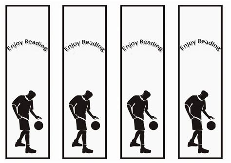 printable baseball bookmarks basketball bookmarks birthday printable