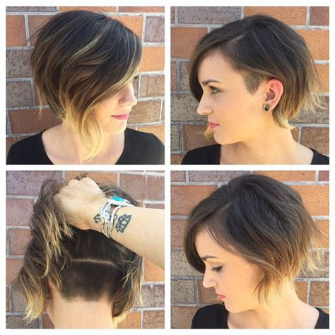 curly bobs with long sides and short in back black women 21 adorable asymmetrical bob hairstyles pretty designs