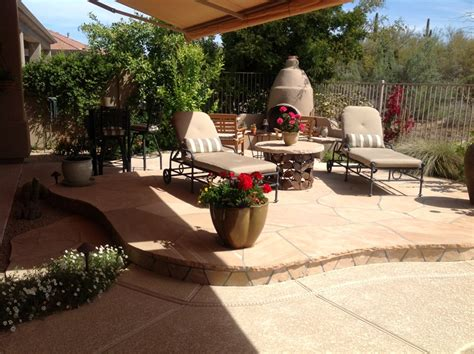backyard anthem small space big assets in anthem patio design desert