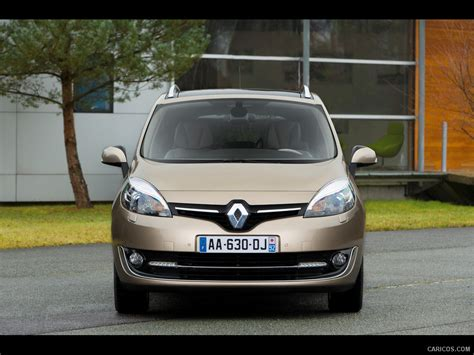 renault grand scenic 2014 2014 renault grand sc 233 nic beige front hd wallpaper 3