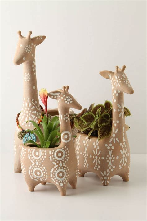 giraffe planter pin by moki moka on 35 objects pinterest