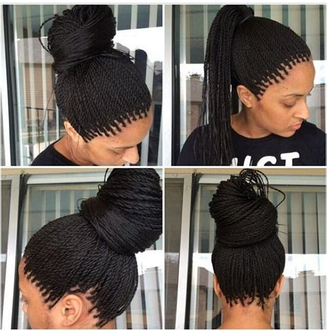 micro braid hairstyles bun 72 best micro braids hairstyles with images beautified