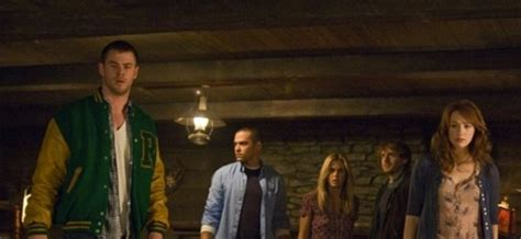 check out the trailer for the cabin in the woods