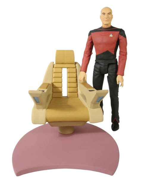 Riker Chair by Select Toys Trek The Next Generation