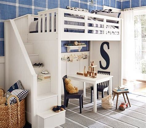 pottery barn bunk stair loft bed pottery barn loft beds and
