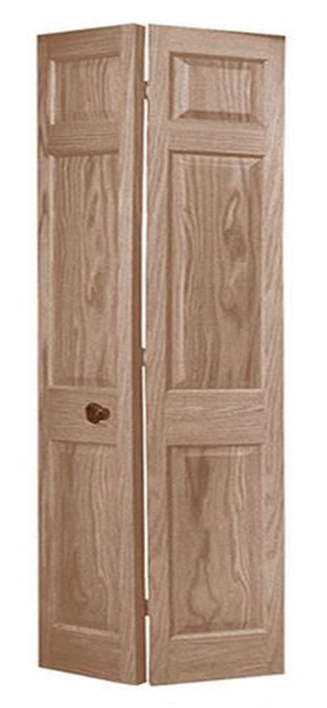 Bifold Closet Doors Menards 6 Pnl Primed Woodgrain Colonist 2 Leaf Bi Fold Door 36
