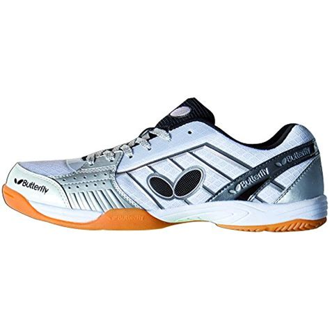 butterfly table tennis shoes amazon butterfly table tennis lezoline shoe white 9 5 apparel