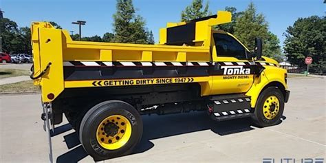 Ford F 750 Tonka Mighty Diesel Dump Truck Photo Gallery