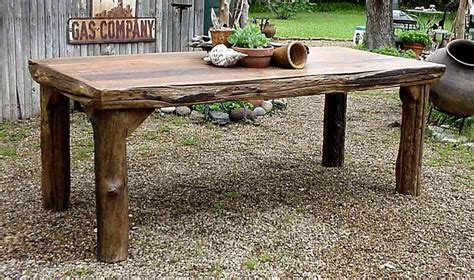 Rustic Patio Table Wonderful Rustic Outdoor Dining Sets 25 Best Ideas
