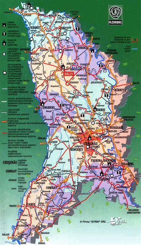moldova map moldova maps printable maps of moldova for