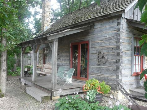 the log house in northfield mn weathered wood wh