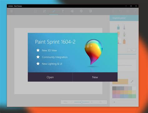 new paint here s how to get the new microsoft paint preview app for