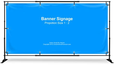 Graphicriver Vinly Banner Mockup banner sign stand mockup 1 2 cover actions premium