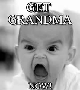 Meme Grandma French - get grandma angry baby meme on memegen