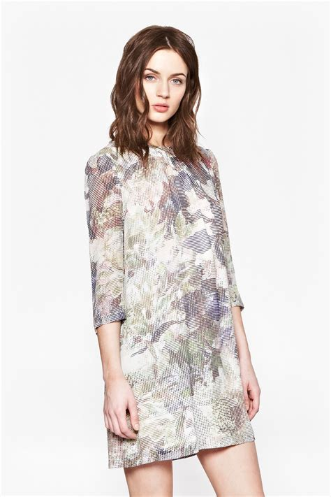 Lv Dress Cerry cherry orchard georgette dress new arrivals