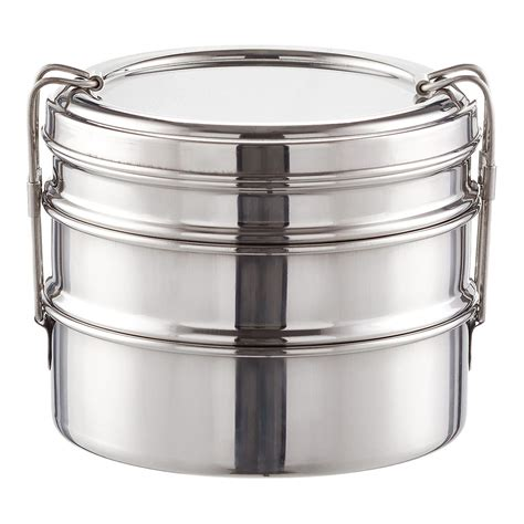 Eco Lunch Box Stainless Steel Rantang 1 Susun 2 stainless steel 3 in 1 ecolunchbox the container store