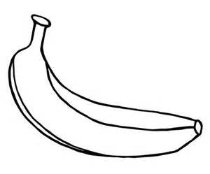 banana color black and white banana template pictures to pin on