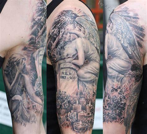 tattoo garden angel angel on the grave tattoo by mirek vel stotker flickr
