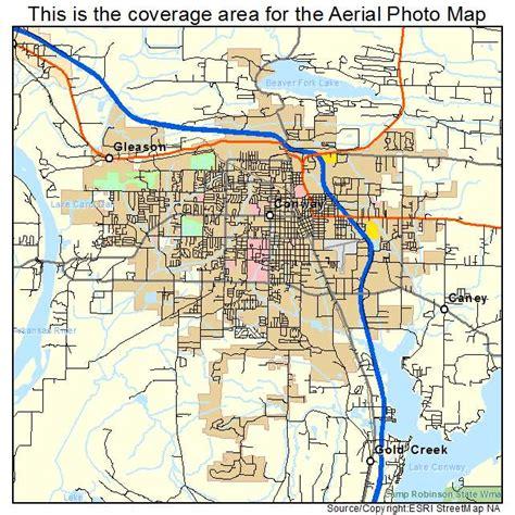 us map conway arkansas aerial photography map of conway ar arkansas