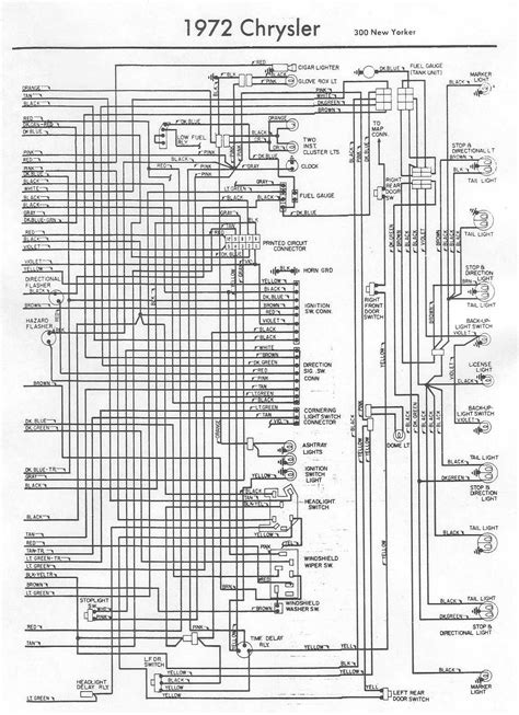 electrical wiring diagram   chrysler   yorker part  auto wiring diagram