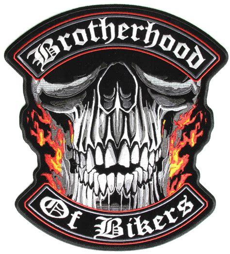 cheap biker brotherhood of bikers large vest biker patch biker