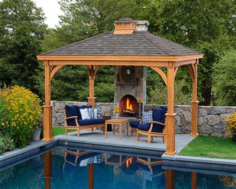 Cedar Gazebos For Sale Wood Pavilion Creative Gazebos