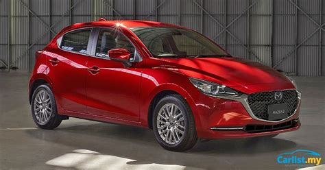 facelifted mazda  unveiled updated design  tech