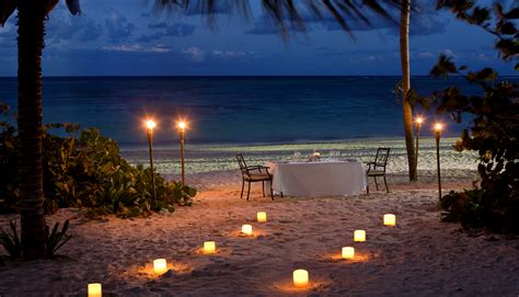 romantic dinner caribbean wedding magic at melia caribe tropical