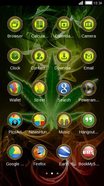 blackberry weed themes download download weed rasta theme theme for your android phone