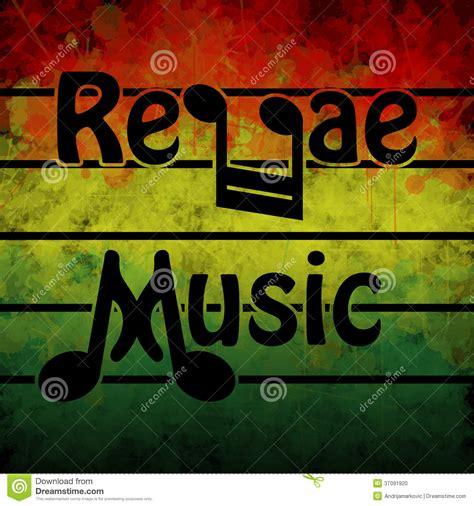 reggae song musica di reggae illustrazione di stock immagine di