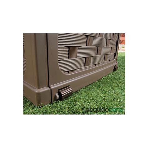 bauli da giardino baule cassapanca da esterno con seduta panca in plastica
