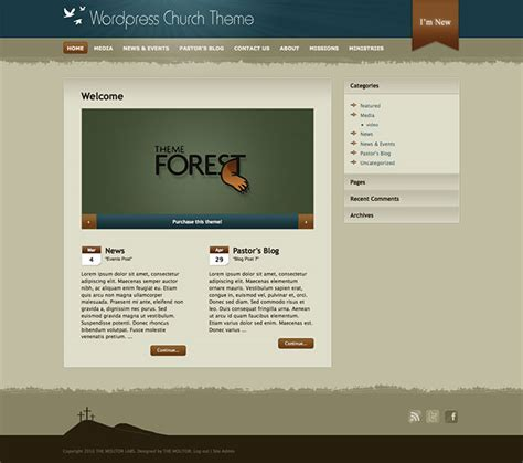 30 best church wordpress themes 2015 athemes