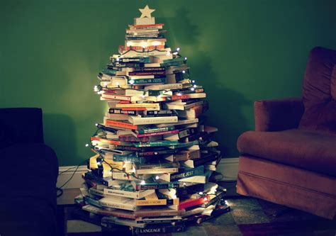 christmas tree books diy book christmas tree my pinterest pictures
