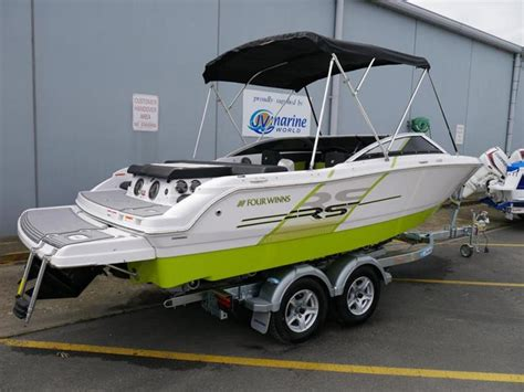 boat rs melbourne four winns h180 rs bow rider jv marine melbourne