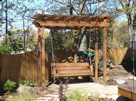 swing arbors decks by design of indiana picture portfolio