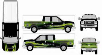 truck wrap design template how to design your own truck graphics