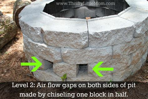 Diy Fire Pit Concrete Block Diy Outdoor Seating With Diy Backyard Firepit