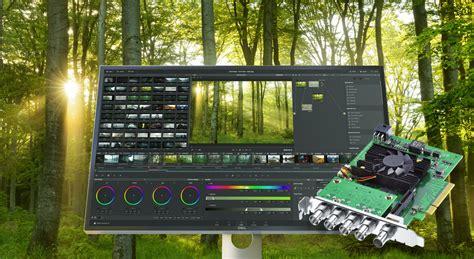 blackmagic workflow blackmagic design decklink 8k pro with link 12g sdi