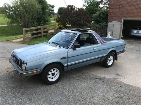 1985 subaru brat for sale 1985 subaru brat gl 4spd 4x4 for sale in independence