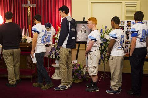 hundreds mourn westbrook high grad killed in port